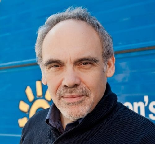 snapshot of Dr. Irwin Redlener