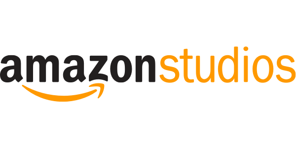 "logo of letters spelling ""Amazon Studios"" with an orange curved arrow underneath"