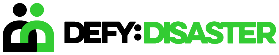 Defy Disaster Logo