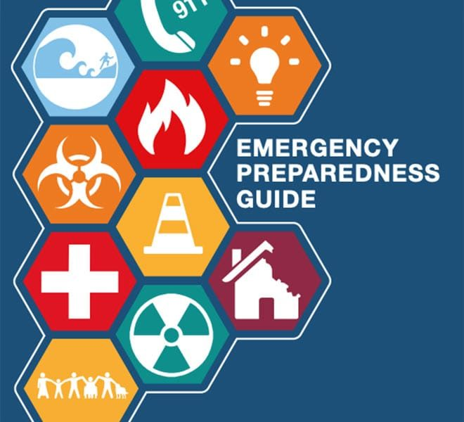 Cover of the LAFD emergency preparedness guide